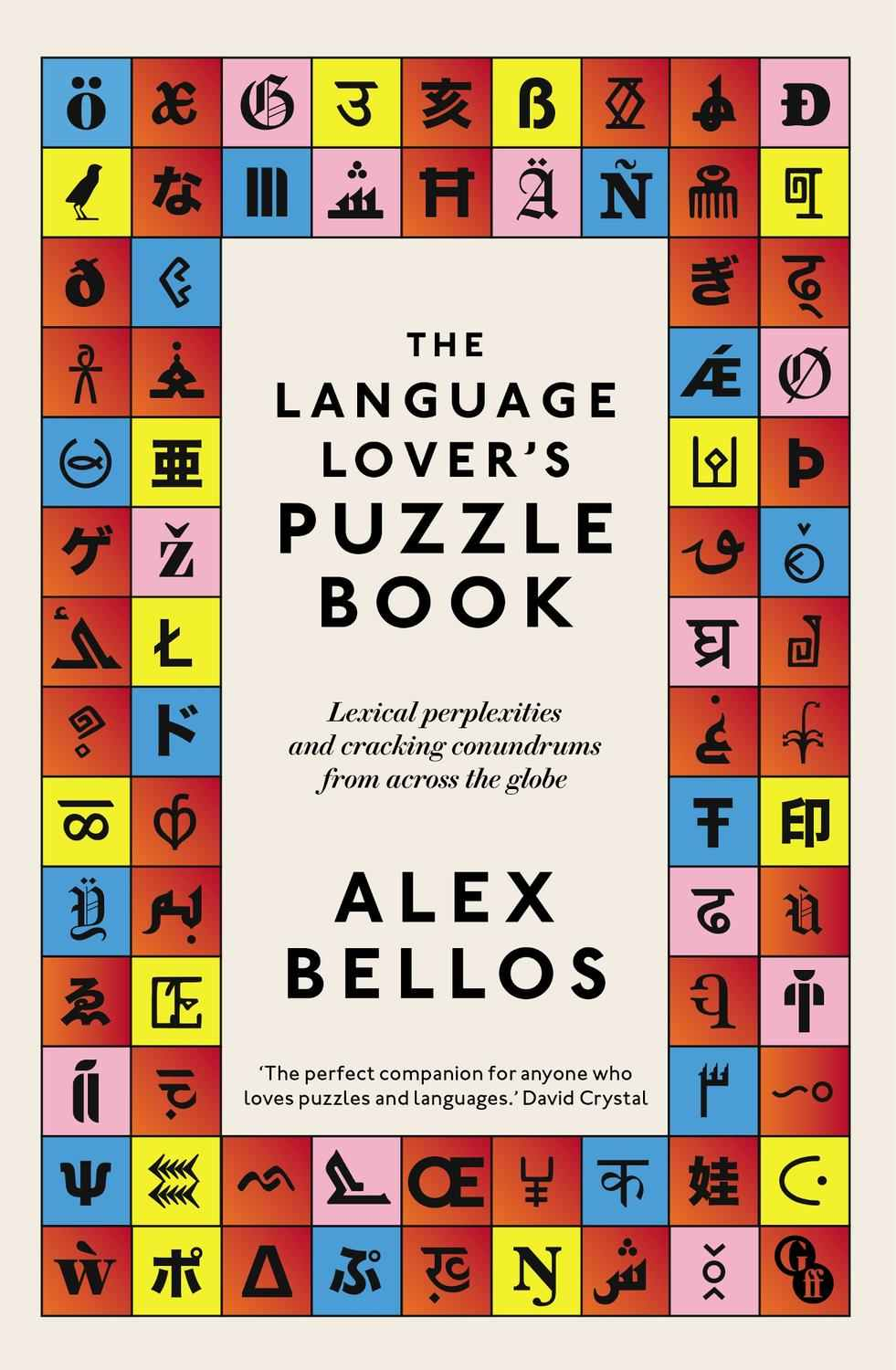 Signed copy of The Language Lover's Puzzle Book by Alex Bellos (Paperback)