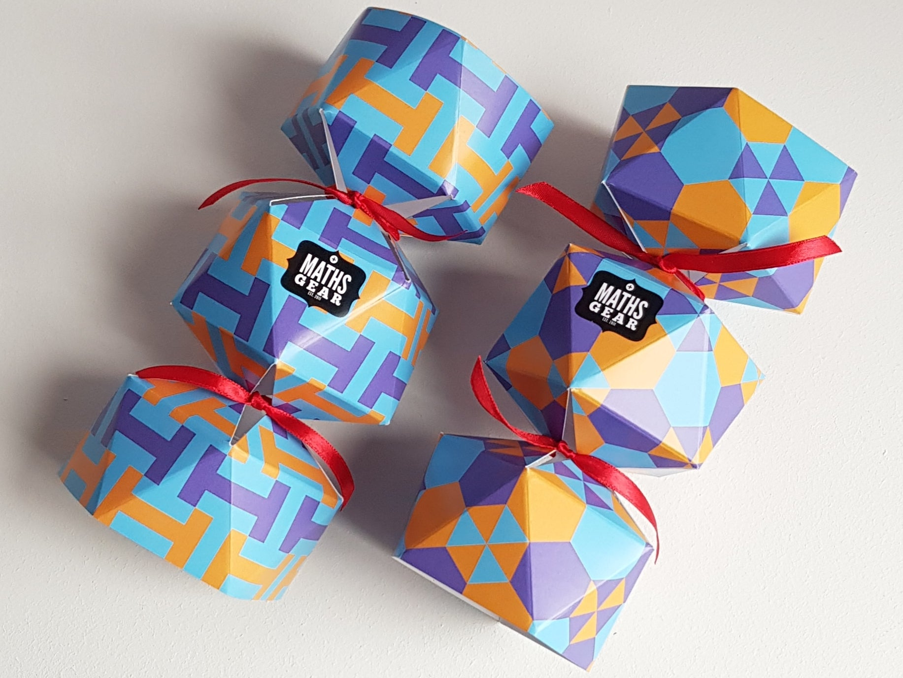 Maths Gear Christmas Crackers (self assembly)