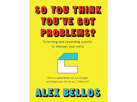 Signed copy of So You Think You've Got Problems? by Alex Bellos - Due to high demand your order will be shipped after 13th November