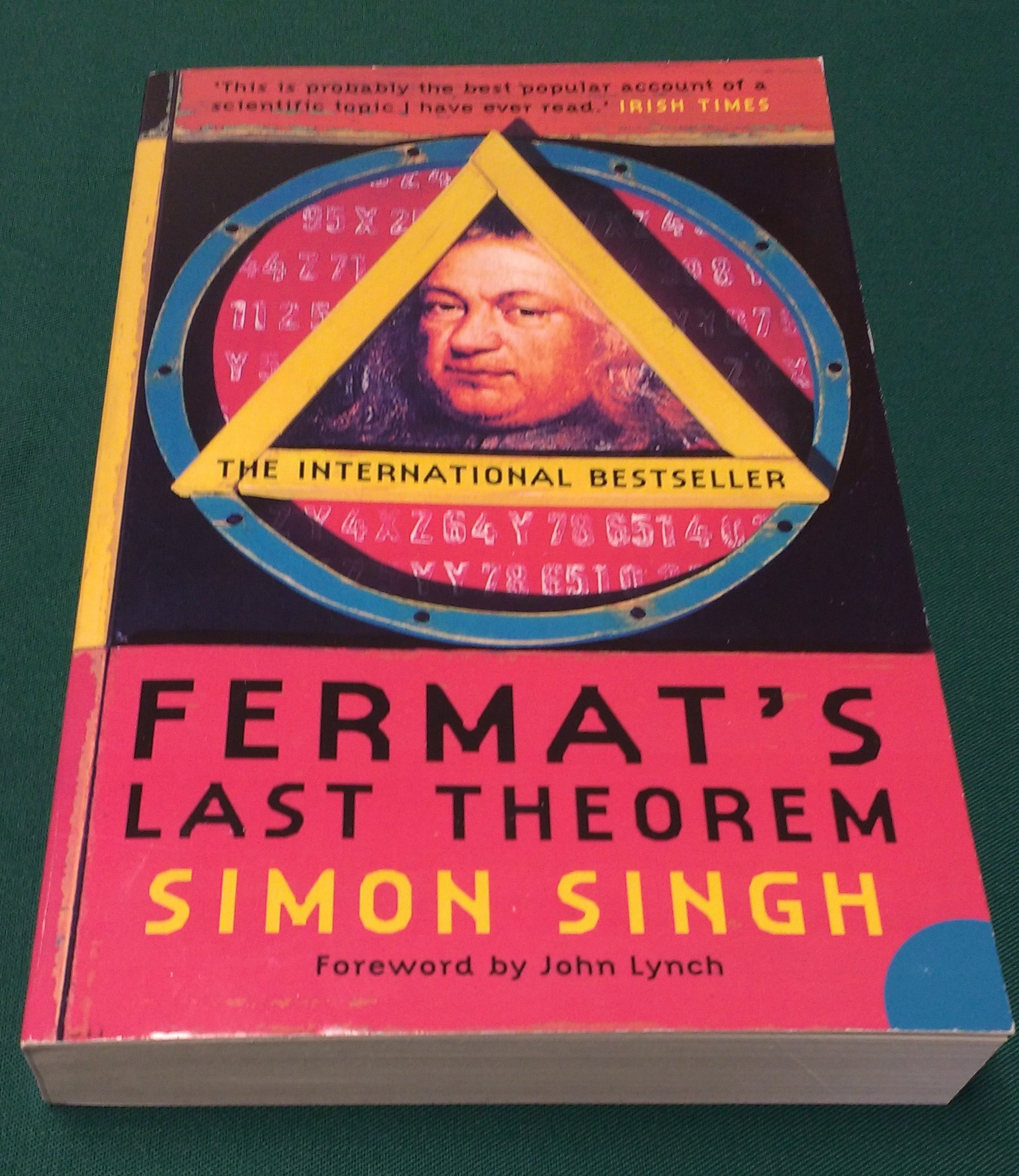 Signed copy of Fermat's Last Theorem by Simon Singh (Paperback)