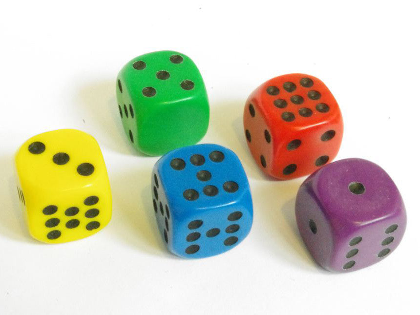 Non Transitive Dice – SCHOOL SET