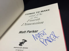 Signed hardback Things to Make and Do in the Fourth Dimension