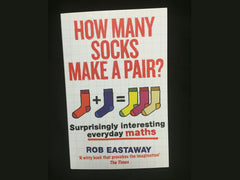 Signed copy of How Many Socks Make a Pair?