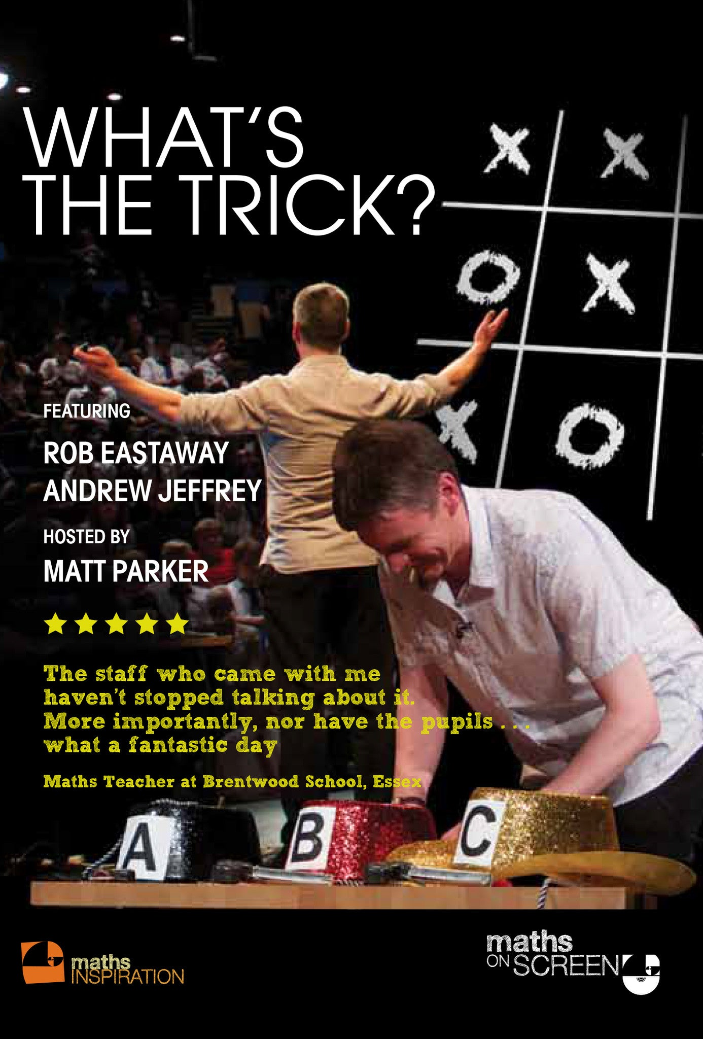 What's The Trick - Maths Inspiration DVD