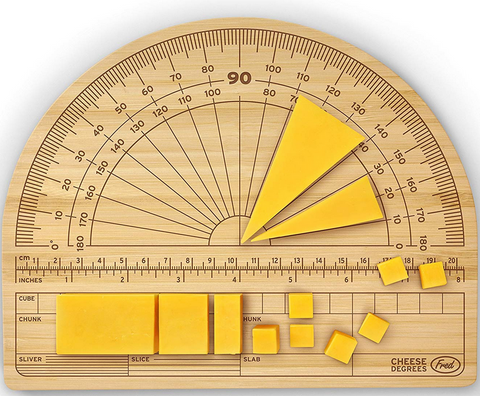Cheese Degrees - Precision Cheese Cutting Board