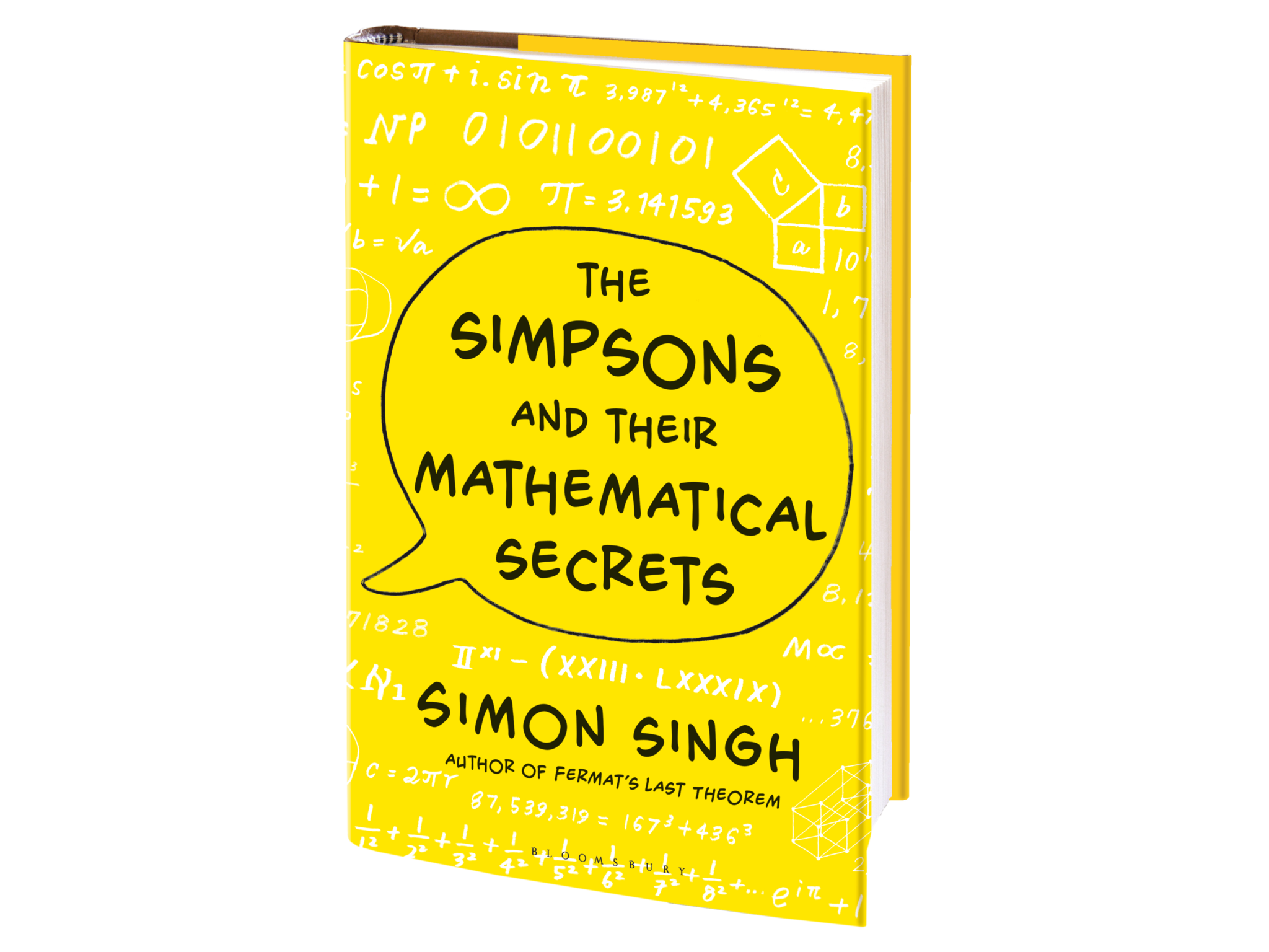 Signed copy of The Simpsons & Their Mathematical Secrets by Simon Singh (Hardback)