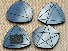 Shapes of constant width – set of 4