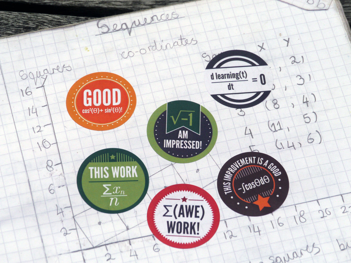 Maths Reward Stickers