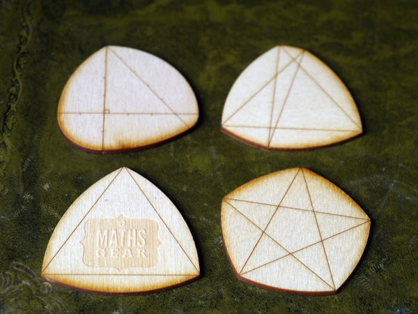 Shapes of constant width – set of 4 – Maths Gear ...