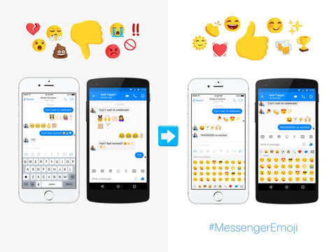 Girl Power takes control of the Facebook Messenger emojis! The