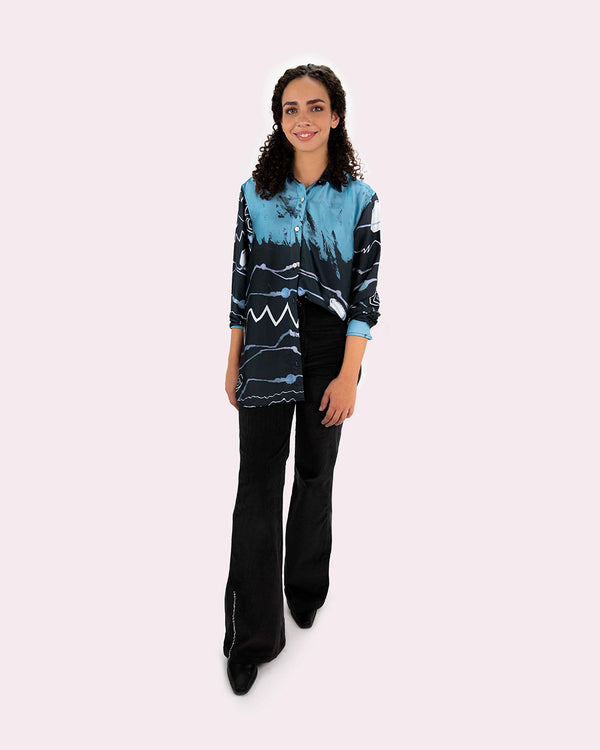 Heartbeat Silk shirt