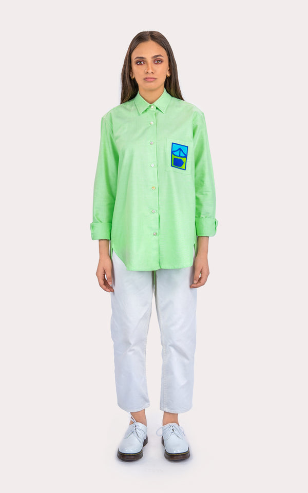 Oxford Green Classic Shirt
