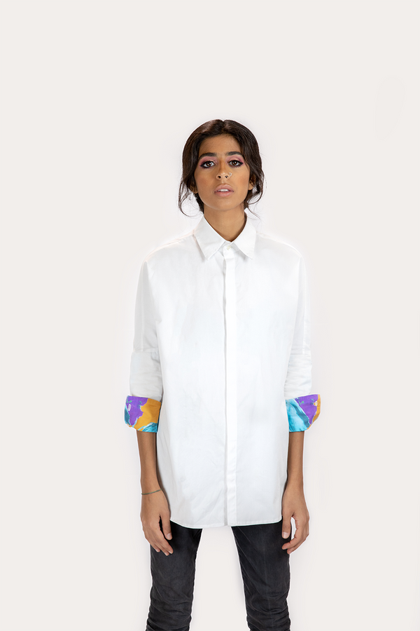 The Inspired White Crisp Shirt
