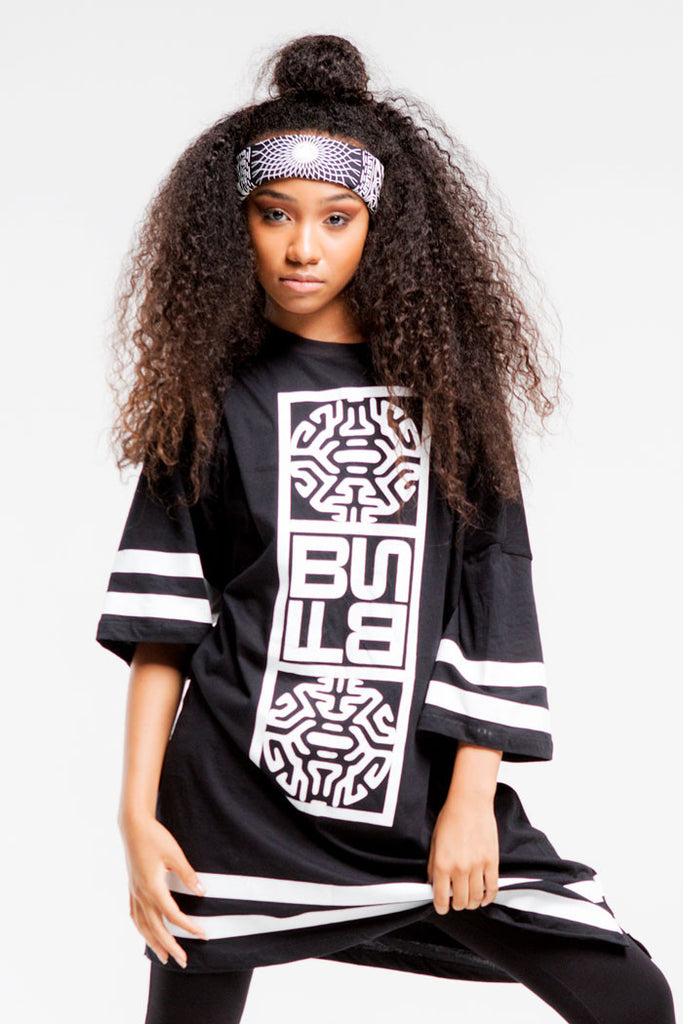 Warrior Jersey | Girls | Black