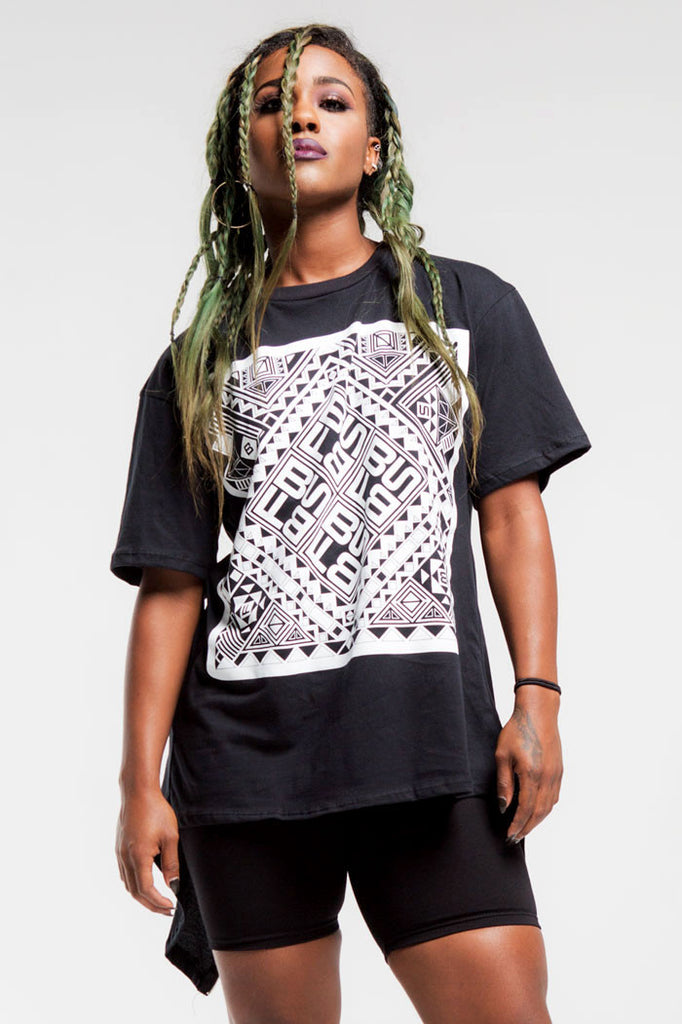 Tribal Zipp T | Women | Black