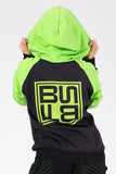 THE ZIP UP | BLACK & LIME
