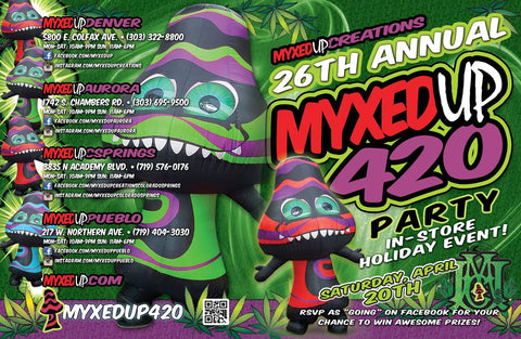 Myxed Up 420 2019 Flyer