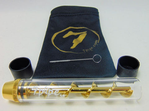 7 Pipe Twisty Glass Blunt