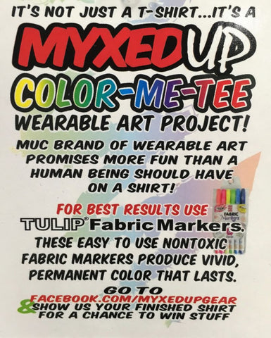 Myxed Up Color Me Tee
