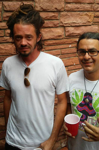 SOJA's Jacob Hemphill with Dabbin' Dan