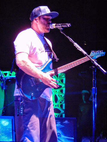 Kyle McDonald of Slightly Stoopid at Red Rocks for the Return of the Red Eye Tour