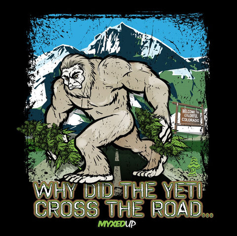 Why Did The Yeti Cross The Road