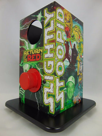 Custom Slightly Stoopid Return of the Red Eye edition Can vaporizer