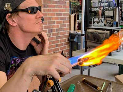 Eric Stecker Glassblower