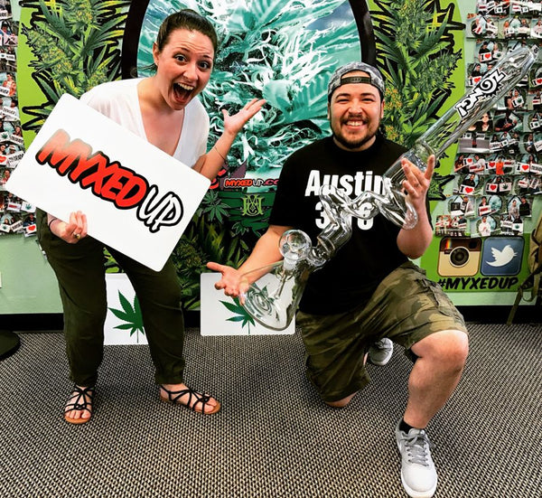 Myxed Up 420 Zong raffle winners in Aurora