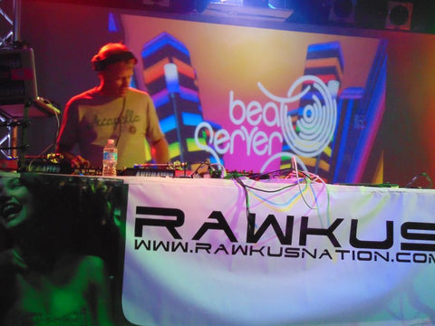 Beat Server on stage during CO WNTR 2015 TOUR at Rawkus in Colorado Springs