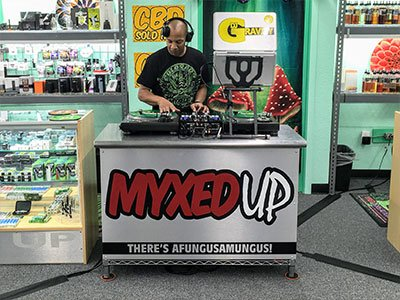 DJ Gravity at More20 Myxed Up Colorado Springs