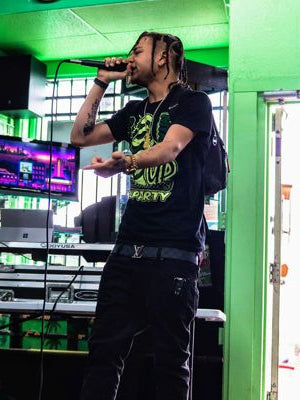 Hip-Hop artist Drexz at Myxed Up Pueblo