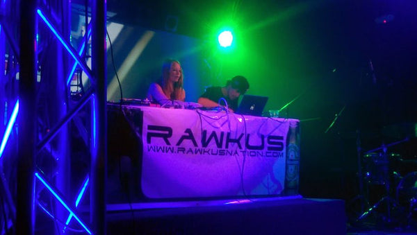 Krooked Drivers on stage during CO WNTR 2015 TOUR at Rawkus in Colorado Springs