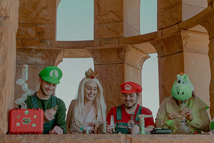 Super Mario Bros and Cannabis