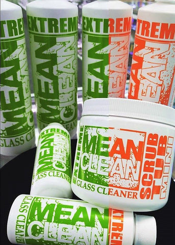 Mean Clean Glass Cleaner