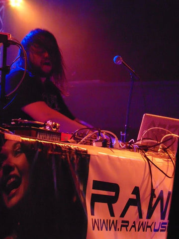 Michal Menert on stage during CO WNTR 2015 TOUR at Rawkus in Colorado Springs