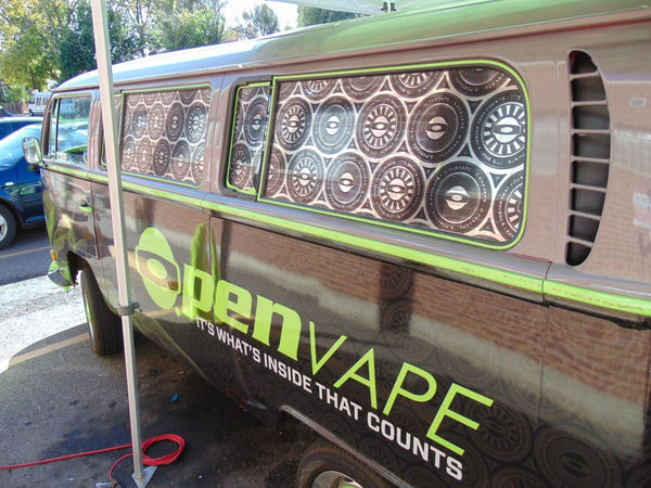 o.penVAPE Bus at Myxed Up in Denver