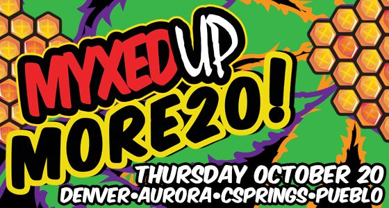 Myxed Up More20 Thursday October 20th 2016