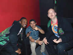 Myxed Up Creations crew AJ, Manny, and Kenny, during CO WNTR 2015 TOUR at Rawkus in Colorado Springs
