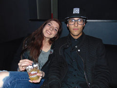 Myxed Up Creations crew Kelsey and friend during CO WNTR 2015 TOUR at Rawkus in Colorado Springs
