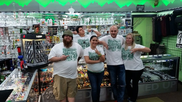 The crew at Myxed Up Pueblo