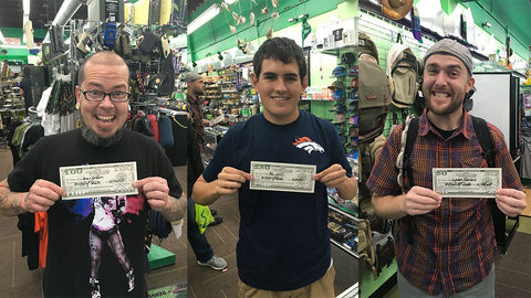 More20 raffle winners in Pueblo