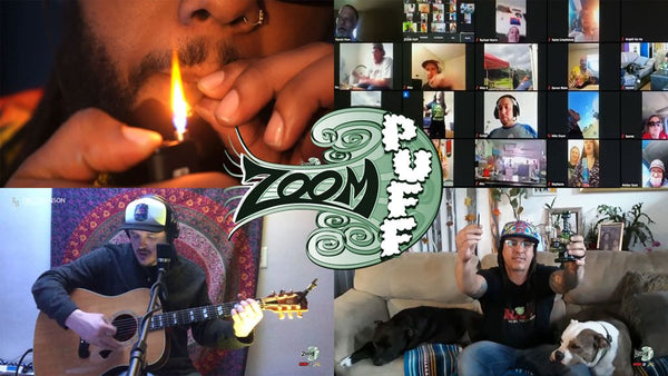 Zoompuff 420 music festival smoke session