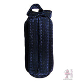 10 inch padded tube case blue