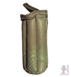 10 inch padded tube case checkered