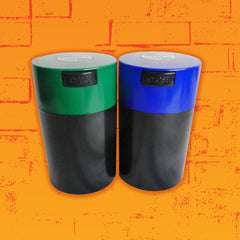1.3 Liter TightVac Container in Black Green or Blue