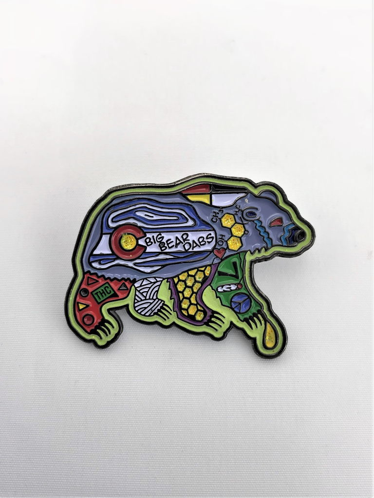 Big Bear Dabs Dabbin Dan Hat Pin