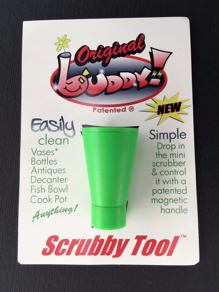 Buddy Magnet Pipe Cleaner Scrubby Tool