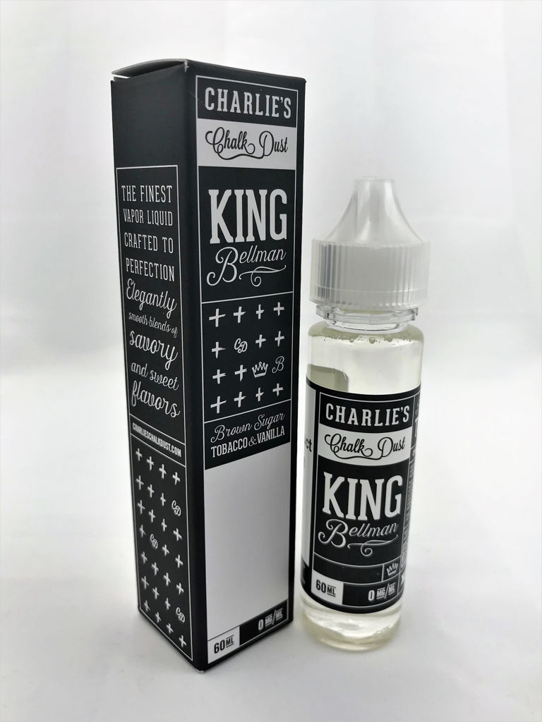 Charlie's Chalk Dust Black Label Vaporizer E-Liquid King Bellman
