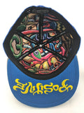 Chris Dyer Dude Grassroots Collab Fitted Hat Inside